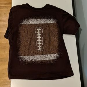 **3/7.00* Boys brown t-shirt